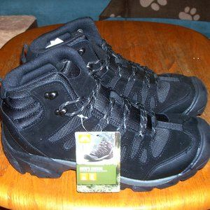 NWT Ozark Trail Men's Black Hiking High Top Shoes